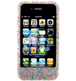 Glitter iPhone 4 Cover from Juicy Couture