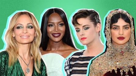 Celebrity Glitter Makeup Looks That'll Get