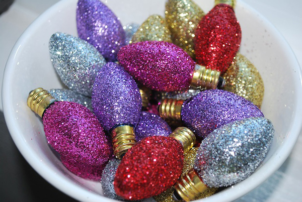 Glitter bulbs