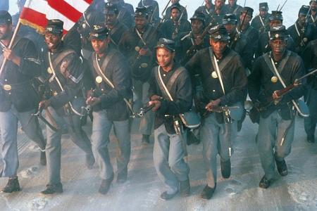 Denzel Washington stars in Glory