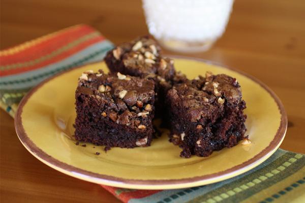 Devilish Chocolate-Zucchini Cake