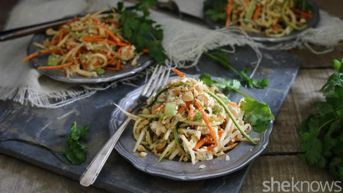 20-Minute noodleless pad Thai is a