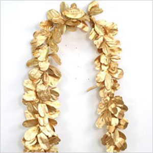 Gold-Leafed Garland