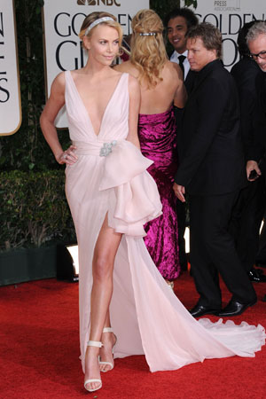 Charlize Theron Best Dressed Golden Globes