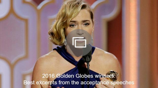 golden globes speeches slideshow