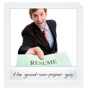 Boyfriend type: The good-on-paper guy