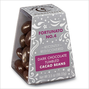 Moonstruck Chocolate Co. Fortunato Tumbled Dark Cocao Beans