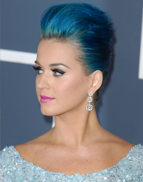 Katy Perry's Grammy 2012 hairstyle
