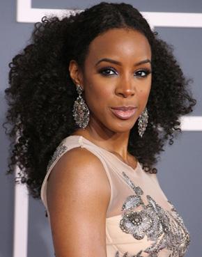 Kelly Rowland's Grammy 2012 hairstyle