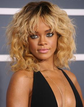 Rihanna's Grammy 2012 hairstyle