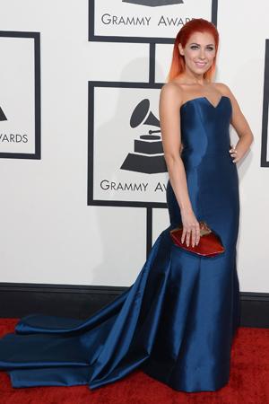 Bonnie McKee at the 2014 Grammy Awards