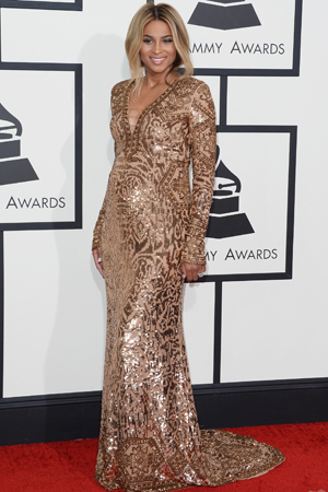 Ciara at the 2014 Grammy Awards