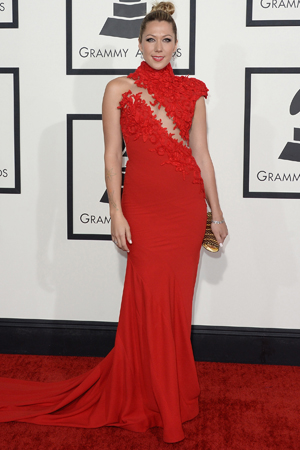 Colbie Caillat at the 2014 Grammy Awards