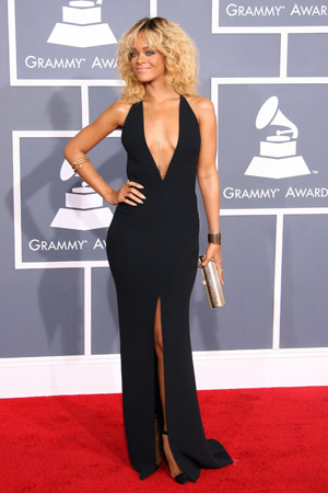 Rihanna Best Dressed at the 2012 Grammy Awards