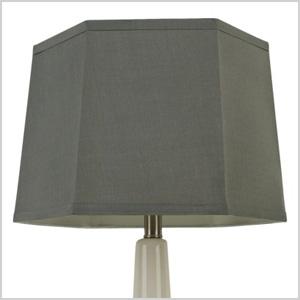 Threshold hexagon lampshade