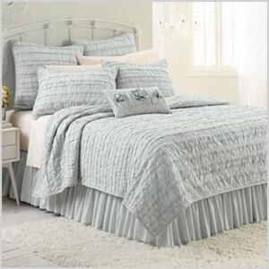 Lauren Conrad Allie ruffle bedding