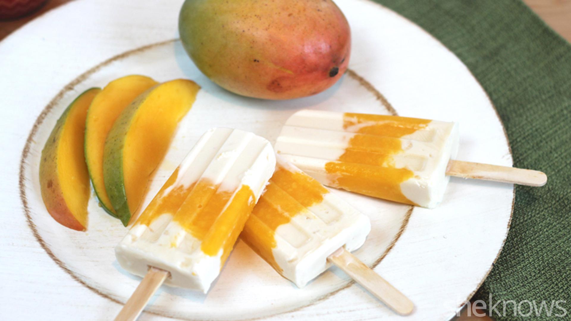 Mango pops