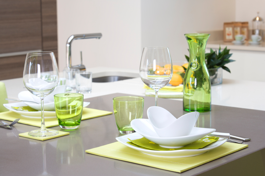 Green home accents