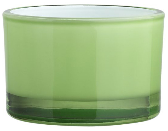 Green tea lights add ambience for St. Patrick's Day