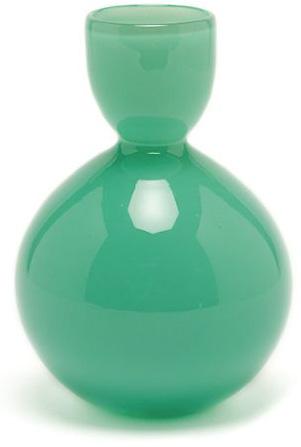 cheerful handblown glass vase