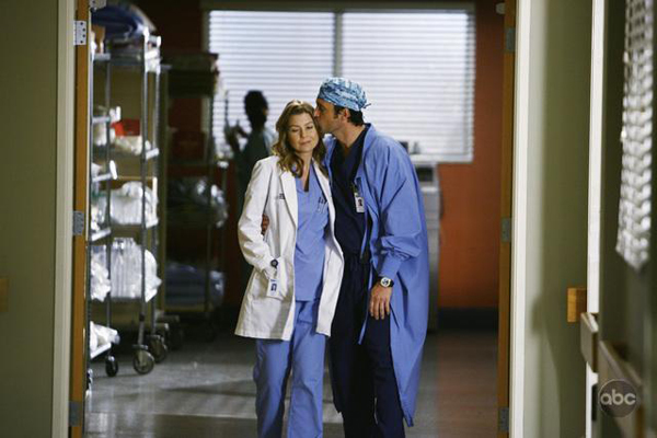 Meredith and Derek...will they on tonight's Grey's Anatomy?