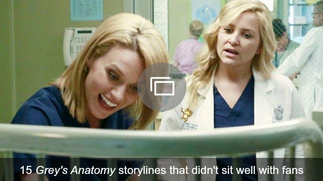 Grey's Anatomy storylines slideshow
