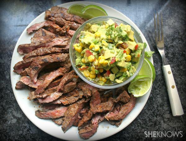 Grilled skirt steak recipe