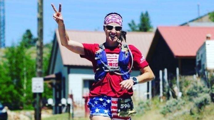 Woman's intense marathon plan is about