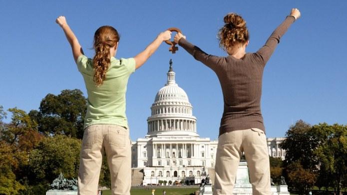The Women's March on Washington cheat