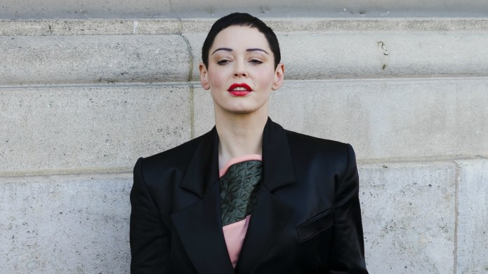 Rose McGowan Sends Harvey Weinstein a