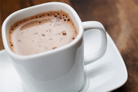 Guilt free hot chocolate