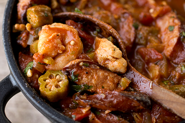 Gumbo-laya With spicy sausage, chicken & shrimp