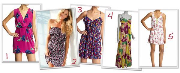 Spring dress trend: Floral prints