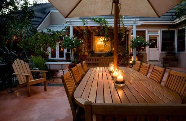 Backyard lighting solutions