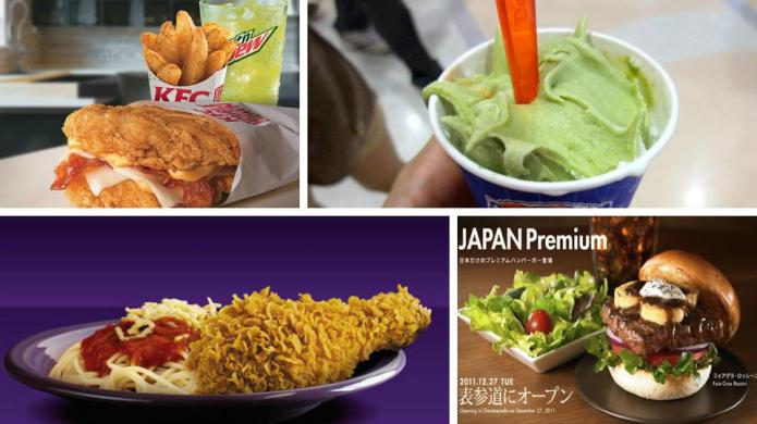 10 Fast-food items from around the