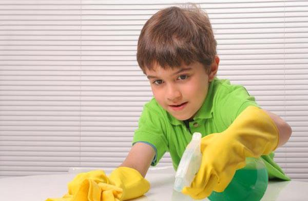 Involving your child in daily chores