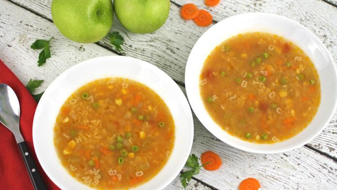 Meatless Monday: Veggie alphabet soup is