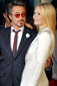 Robert and Gwyneth are all smiles