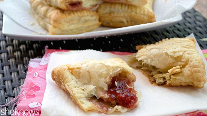 Guava and cream cheese pastries give