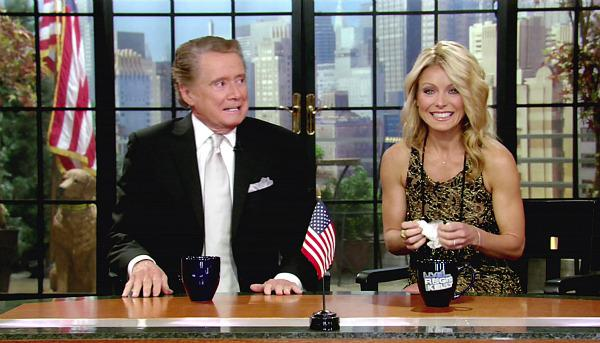 "Kelly Ripa on Regis Philbin: ""I"