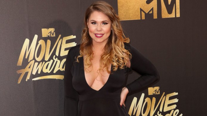 Kailyn Lowry looks stunning at MTV