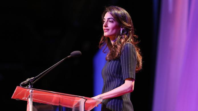 Amal Clooney's Commencement Speech Is Really