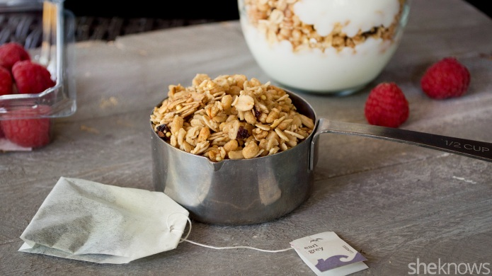 Earl Grey-infused granola is the perfect