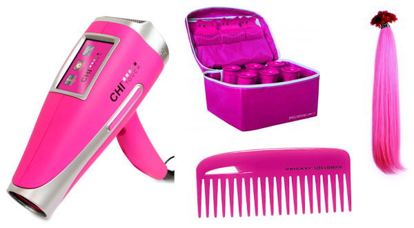 Hair products that supports Breast Cancer Awareness