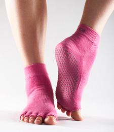 Half-ToeSox with Grip