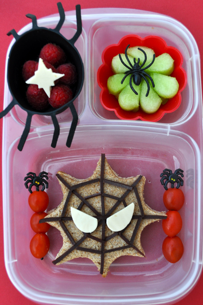 Halloween school lunches