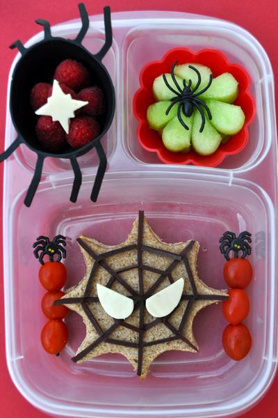 Halloween school lunches
