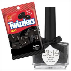 Twizzlers Black Licorice Nibs