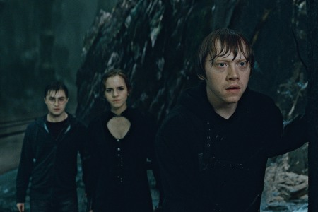 Rupert readies for action in Harry Potter and the Deathly Hallows Part 2