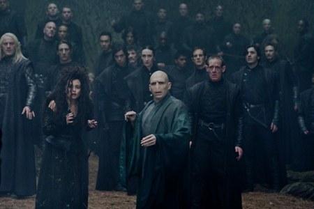 Bellatrix Lestrange and Voldemort seem concerned